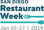 San Diego Restaurant Week 2019