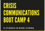 Crisis Communications Boot Camp 4