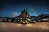 Ford Recreates Historic March to Aqaba with Global Truck and SUV Lineup