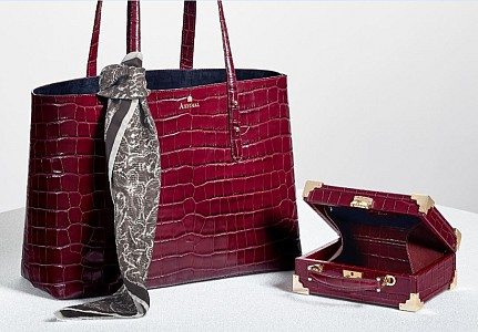 Aspinal take a retrospective look at bygone eras of classic vintage styling  and true elegance