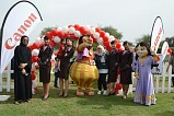 Canon Middle East participates in 'Walk for a Cause' to support women empowerment projects