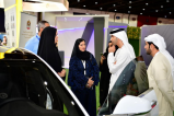 HE Dr. Thani bin Ahmed Al Zeyoudi, Minister of Climate Change and Environment, visited the Future Cities Show 2017 to review the innovative projects on display
