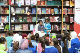 Kalimat Foundation for Children's Empowerment distributes 1,000 books to Syrian children in Emirati-Jordanian Camp
