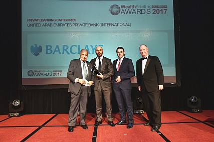 Barclays Named 'best Private Bank' in Two Categories at the 2017 Gcc Wealthbriefing Awards