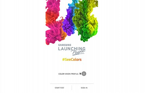Samsung Launches SeeColors App for QLED TV to Support People