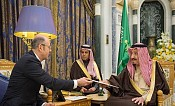 Saudi Arabia's King Salman receives letter from president of Azerbaijan