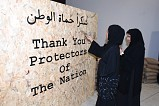 Etihad Museum Welcomes Public to Honour UAE Armed Forces by Signing 'Thank You Wall'