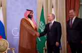 HRH the Crown Prince meets President of Russia on sidelines of G20 summit
