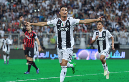 Juventus beat Milan to Supercoppa Italiana after Cristiano Ronaldo winner