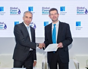 Masdar-led Global Clean Water Desalination Alliance and IOWater partner to improve global water security