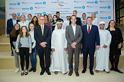 Masdar City and German Embassy to the UAE Host Exhibition on Germany's Energy Transition at Masdar City