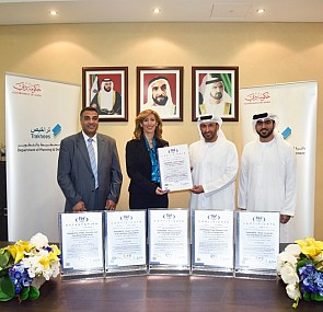 Trakhees receives 5 ISO certificates