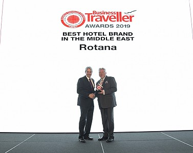 Rotana named 'Best Hotel Brand in the Middle East' at Business