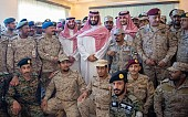 Saudi crown prince sends Eid congratulations to troops, citizens on southern border