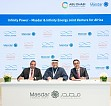 "Masdar and Infinity Energy establish joint venture ""Infinity Power"" to develop renewable energy projects in Egypt"