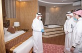 Minister Al-Khateeb inspects quarantine preparedness at tourist facilities