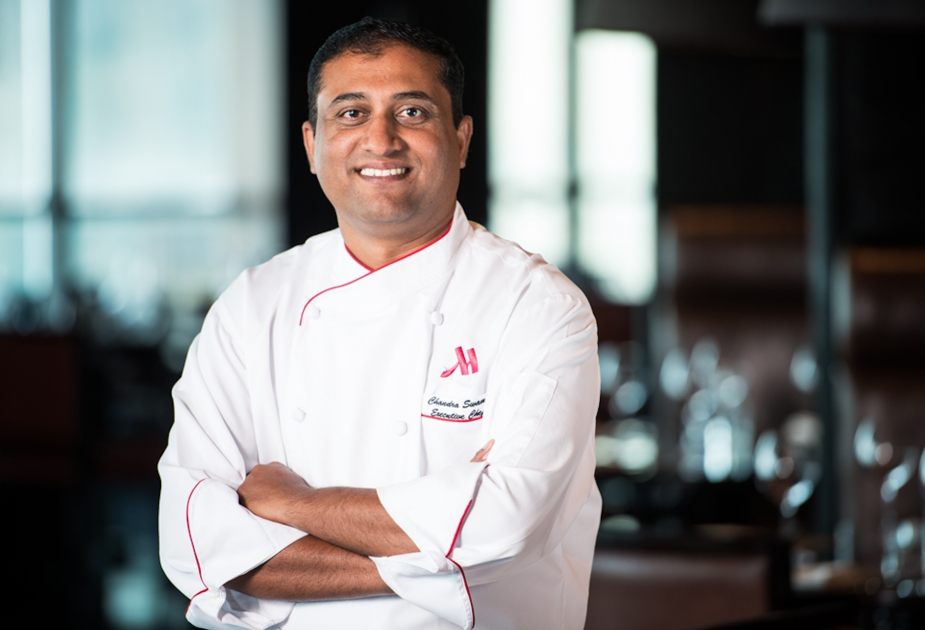 chef ravi courtyard by marriott